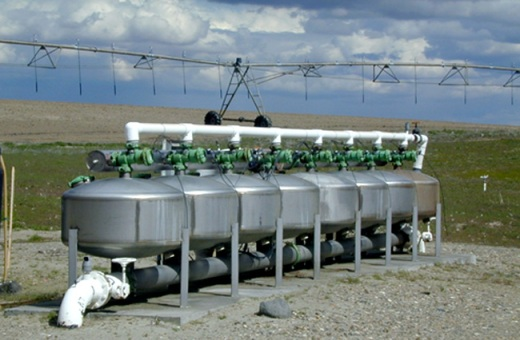 Irrigation system on lease parcel in Benton County